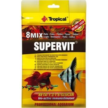 Tropical / Тропикал 700112/85893 корм для декоративных рыб Supervit 12гр + Кондиционер д/воды Esklarin 10гр