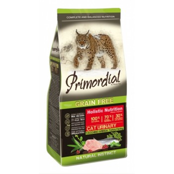 PRIMORDIAL / ПРИМОРДИАЛ Корм сух для кошек с МКБ б/зерн индейка сельдьр 400 гр
