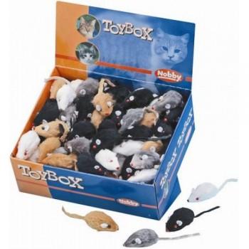 Nobby / Нобби Игрушка набор для кошек Мышка меховая 5см 80110