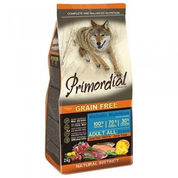PRIMORDIAL / ПРИМОРДИАЛ Корм сух для собак б/зерн.форель утка 2 кг