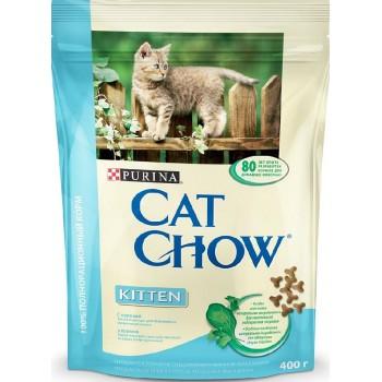 "Cat Chow / Кэт Чоу ""Kitten"" сухой 400 гр для котят Курица"