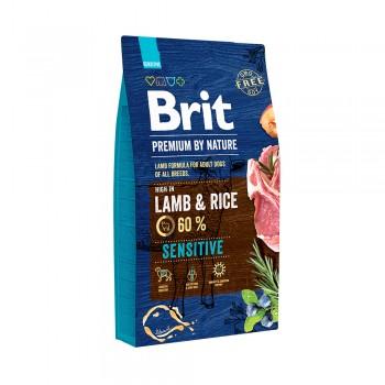 Brit / Брит Premium by Nature Sensitive Lamb для собак с чувствительным пищеварением 18 кг