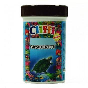 Cliffi / Клиффи Для черепах, средние сушеные креветки, 1000мл PCAA303