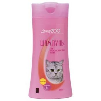 Доктор ЗОО Шампунь д/короткошерстных кошек 250мл