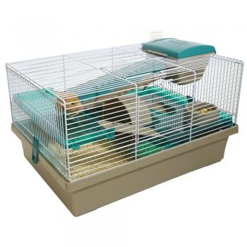 Rosewood Клетка для мелких грызунов PICO, серо-бирюзовая