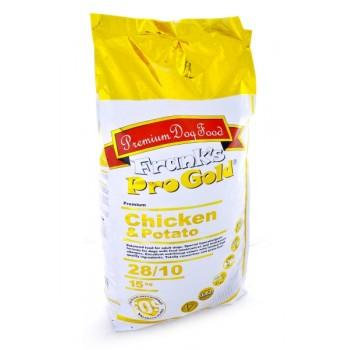 Frank's ProGold / Франкс ПроГолд для собак Беззерновой: с курицей и Молодым картофелем (Chicken&Potato 28/10) 15 кг