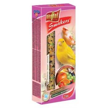 Vitapol / Витапол Smakers c фруктами для канареек