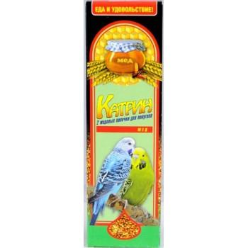 Катрин 2102 Палочки д/волнистых попугаев Мёд 2шт