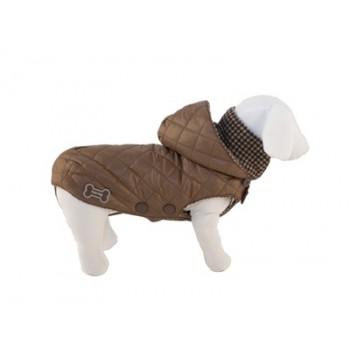 "Ferribiella / Феррибиэлла Теплая куртка ""Москва"" (коричневый) на длину 27 см"
