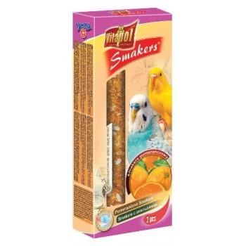 Vitapol / Витапол Smakers с апельсином для волнистых попугаев