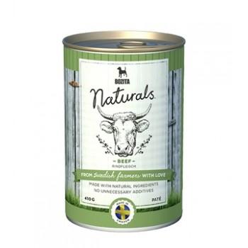 Bozita / Бозита Naturals Beef кон.д/собак мясной паштет с говядиной 410гр