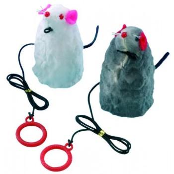 Nobby / Нобби Игрушка для кошек Мышка на резинке 9см 80058