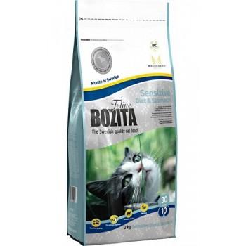 Bozita / Бозита Funktion Sensitive Diet&Stomah сух.корм д/кошек чувствительным пищеварением 10кг