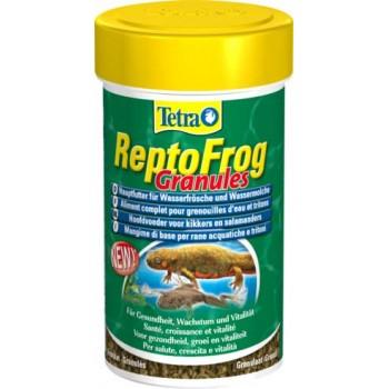 Tetra / Тетра ReptoFrog основной корм для водных лягушек и тритонов в гранулах 100 мл