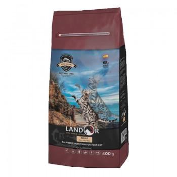 Landor / Ландор сухой корм для взрослых кошек рыба с рисом 2 кг