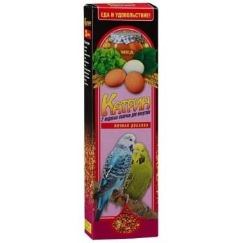 Катрин 2101 Палочки д/волнистых попугаев Медово-Яичные 2шт