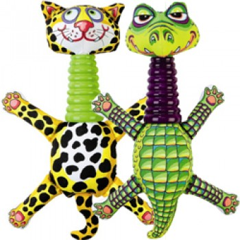 Fat Cat Игрушка д/собак - Забавное животное с длинной шеей, большая, мягкая, Rubber Neckers Dog Toy (630039)