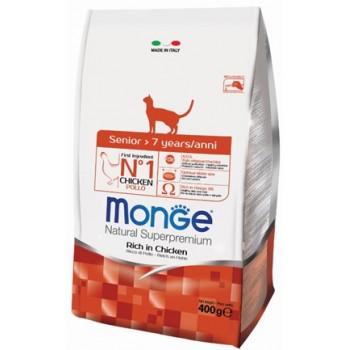 Monge / Монж Cat корм для пожилых кошек 400г