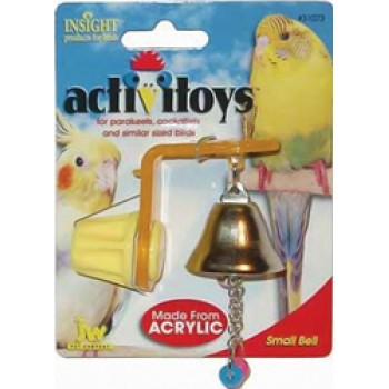 JW Игрушка д/птиц - Колокольчик, Small Bell Toy for birds (31073)