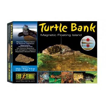 Exo Terra / Экзо Терра Черепаший берег Turtle Island Magnetic 29.8x17.8x5.4 см. PT3801