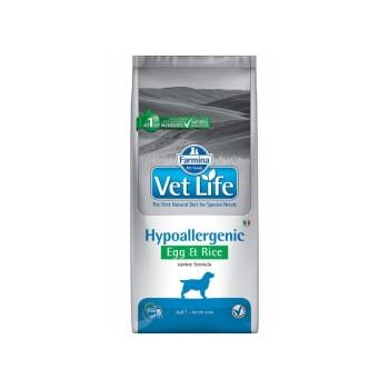 Farmina / Фармина Vet Life HIPO Egg & Rice Диета д/собак яйцо и рис при пищевой аллергии и пищевой непереносимости 2кг*4 (25272)