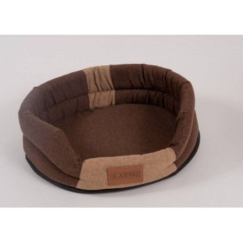 Katsu / Катсу ANIMAL 65х54 см лежак для животных коричнево-бежевый