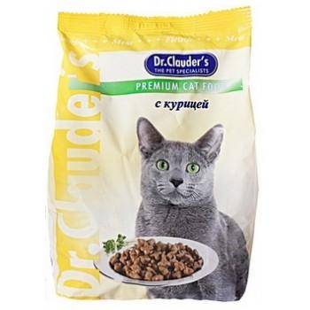 Dr.Clauder's / Др.Клаудер'c Корм сух.д/кошек Курица 400гр