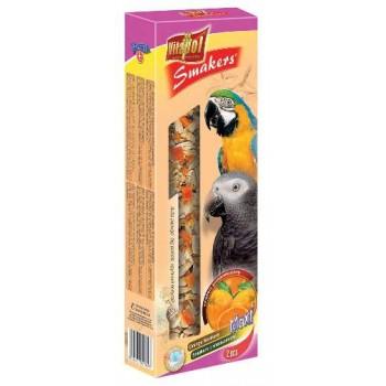 Vitapol / Витапол Smakers maxi c апельсином для крупных попугаев