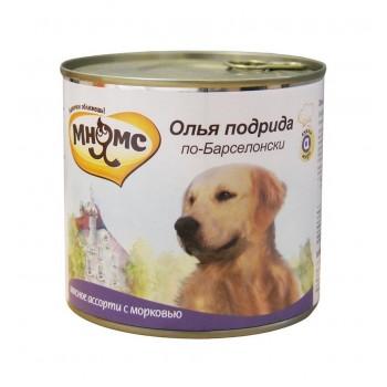 Мнямс консервы для собак Олья Подрида по-Барселонски (мясное с морковью) 600 г