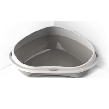 Georplast / Георпласт Туалет для кошек SHUTTLE CORNER угловой с бортом 58см