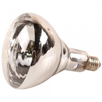 Лампа инфракрасная 175 Bт JK Lighting, E27 R125, закаленное стекло, прозрачная