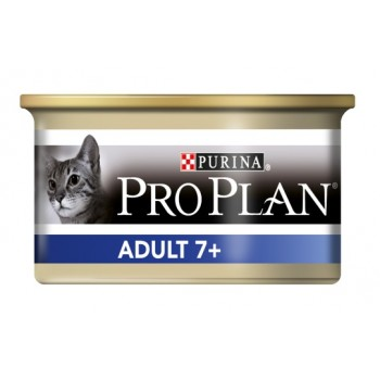 "Pro Plan / Про План ""Vital Age 7+"" консервы для Старых кошек мусс тунец 85 гр"