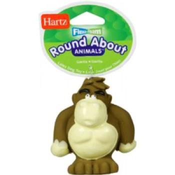 Hartz / Хартц Игрушка для собак - горилла, латекс с наполнителем, маленькая Round about animals Flexa-Foam dog toys Gorilla small