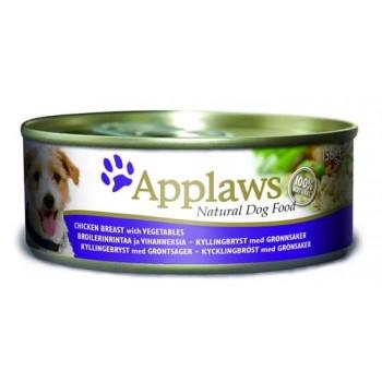 Applaws / Эпплаус Консервы для Собак с Курицей, овощами и рисом 0,156 кг