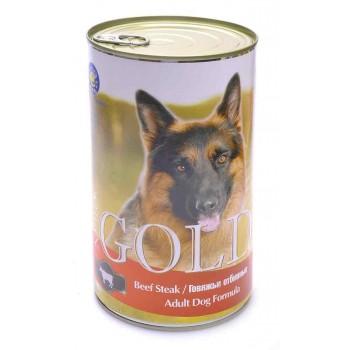 """Nero Gold / Неро Голд для собак """"Говяжьи отбивные"""" 1,25 кг"""