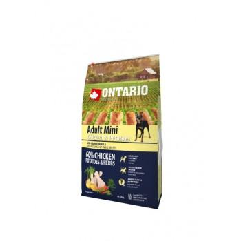 Ontario / Онтарио для собак малых пород с курицей и картофелем 6,5 кг