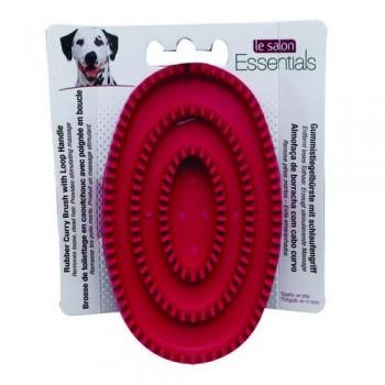Hagen / Хаген резиновая щетка овальная массажная Le Salon для собак