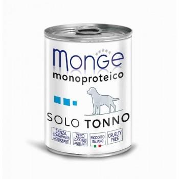 Monge / Монж Dog Monoproteico Solo консервы для собак паштет из тунца 400г