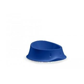 Stefanplast / Стефанпласт Миска нескользящая Chic, тёмно-синяя 350 мл, 18х18х7 см