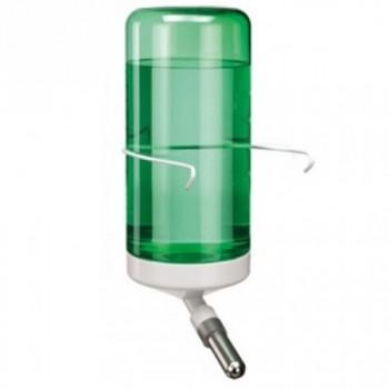 Ferplast / Ферпласт Поилка-шарик DRINKY 75 куб. см. на крючках для грызунов (зеленая)