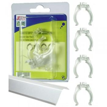 Juwel / Ювель Клипсы пластиковые для аллюминевых отражателей Juwel T8