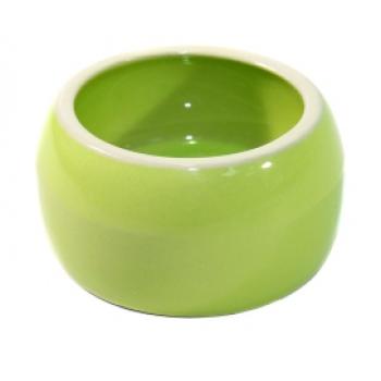 Nobby / Нобби Миска 0,125л керамика зеленая (1х6) 37311