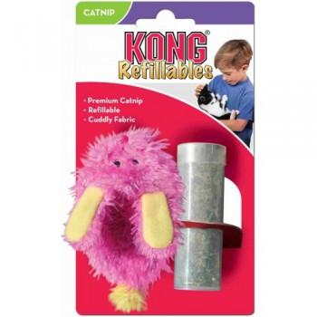 """Kong / Конг игрушка для кошек """"Тапочек"""" текстиль с тубом кошачьей мяты"""