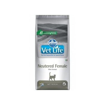 Farmina / Фармина Vet Life Neutered Female корм д/стерилизованных кошек 10кг (24886)