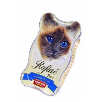 Animonda Rafine Petit конс. 85 гр. Паштет из деликатесной рыбы для взрослых кошек (ламистер) 83472