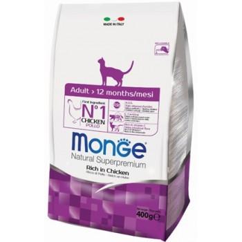 Monge / Монж Cat корм для взрослых кошек 400г