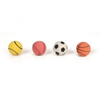 "Beeztees / Бизтис 620268 Игрушка д/собак ""Мяч"", мягкая резина 6,3см (шоубокс)"
