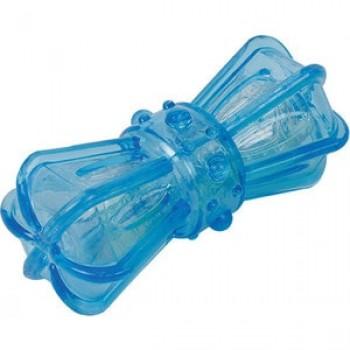 """Игрушка """"Грызлик Ам"""" Бантик Bottle Sound Размер 16,2 см, Цвет Голубой, Материал TPR, с бутылочным звуком"""
