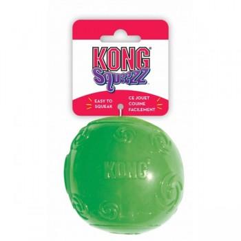 Kong / Конг игрушка для собак Сквиз Мячик очень большой резиновый с пищалкой