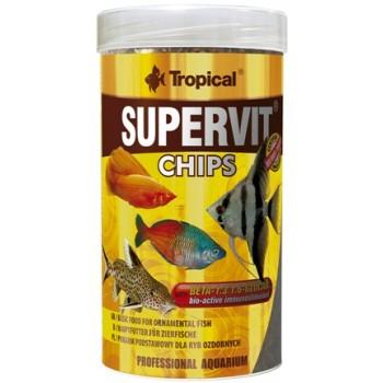 Tropical / Тропикал 608135/85901 корм для декоративных рыб (чипсы) Supervit Chips 100мл/52гр